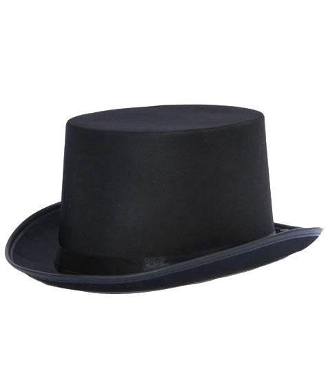 Chapeau-Haut-de-forme-satin