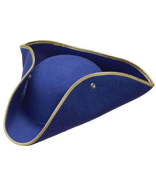 Tricorne-bleu