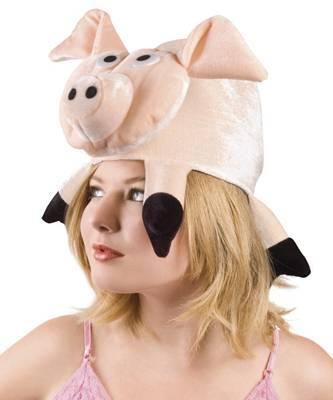 Chapeau-de-cochon-sur-tête
