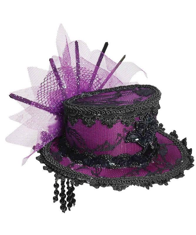 Chapeau-Bibi-de-style-époque-violet