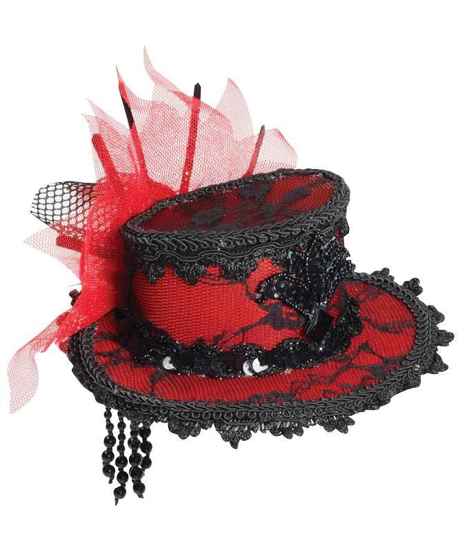Chapeau-Bibi-de-style-époque-rouge