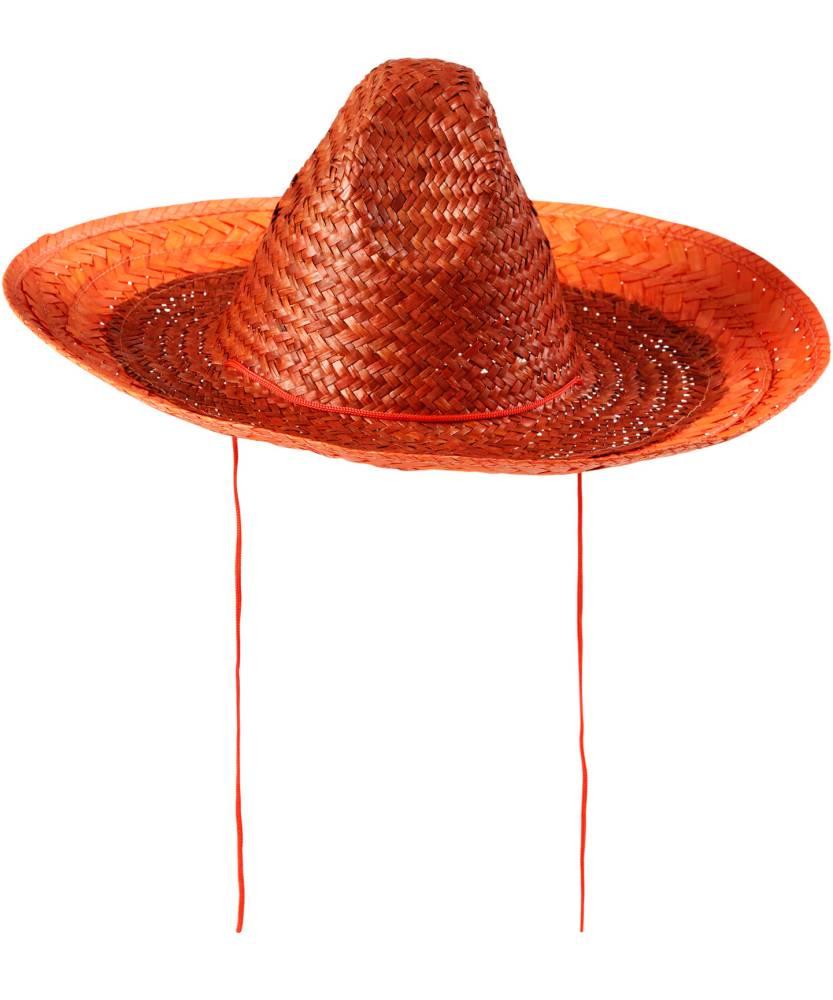 Sombrero-mexicain-orange-2