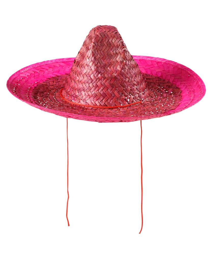 Sombrero-mexicain-rose-2
