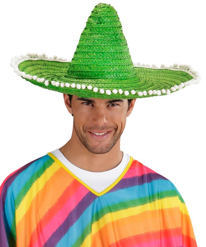 Sombrero-mexicain-vert-adulte
