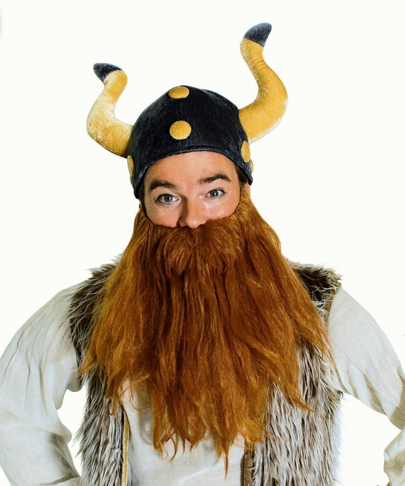 Casque-de-viking-en-velours