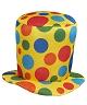 Chapeau-de-clown-haut-de-forme