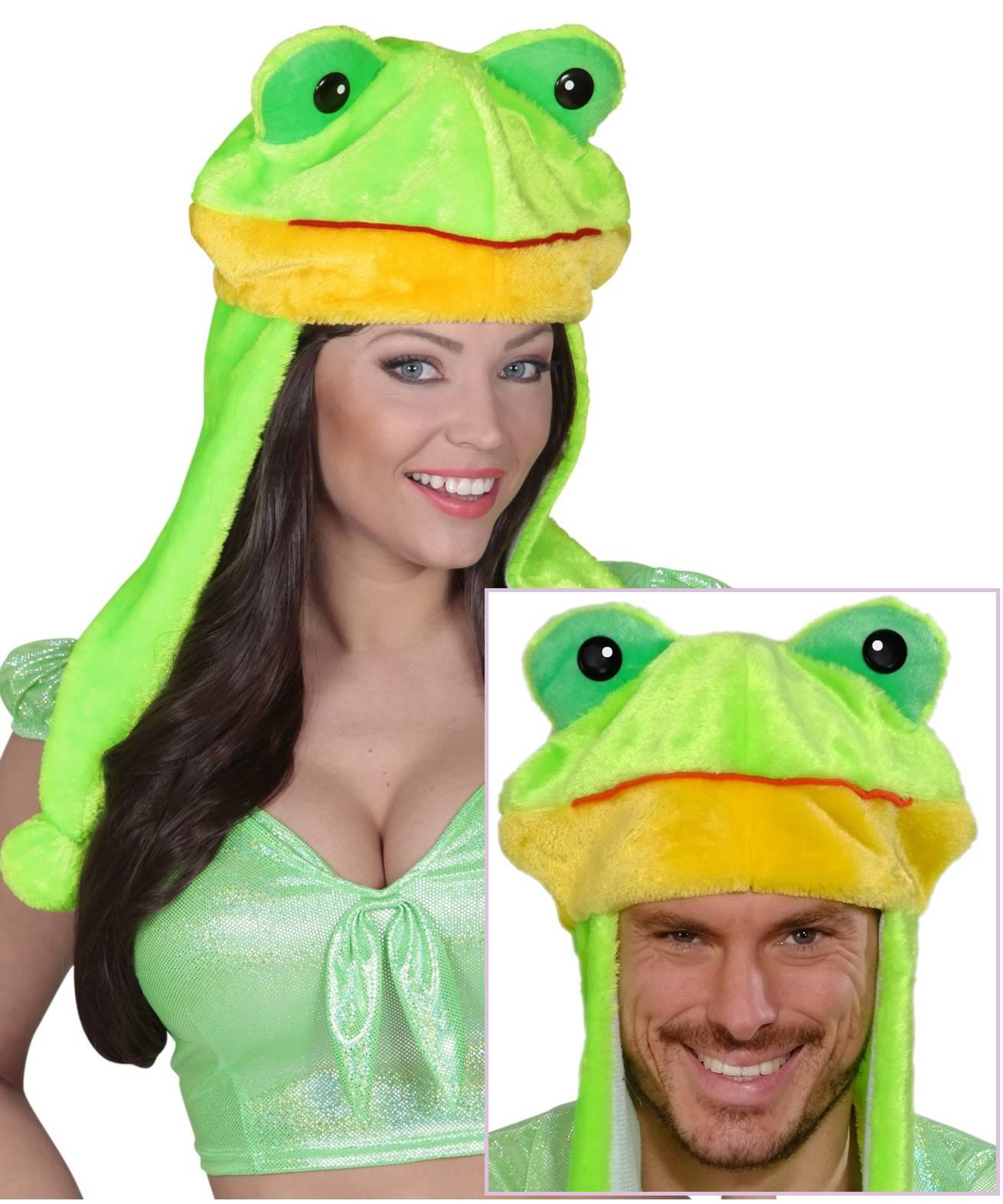 Chapeau-de-grenouille-sur-tête
