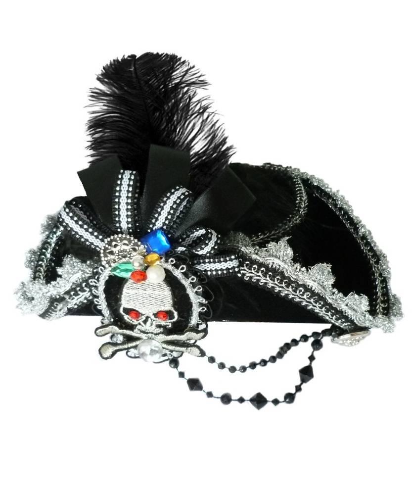 Mini-chapeau-de-pirate-noir