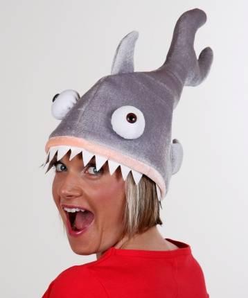 Chapeau requin sur t te ac1608 - Requin rigolo ...