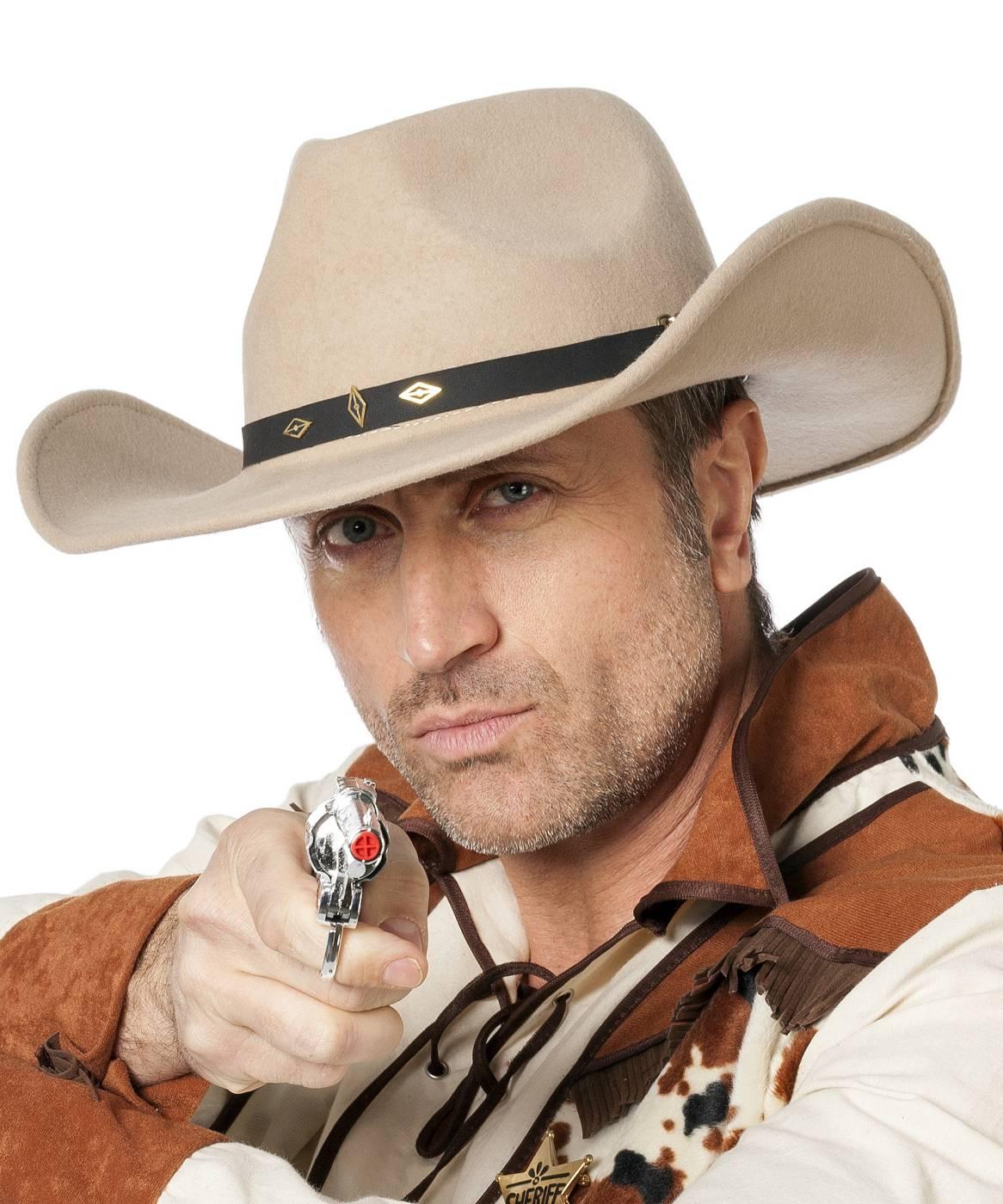 Chapeau-de-cowboy-réaliste
