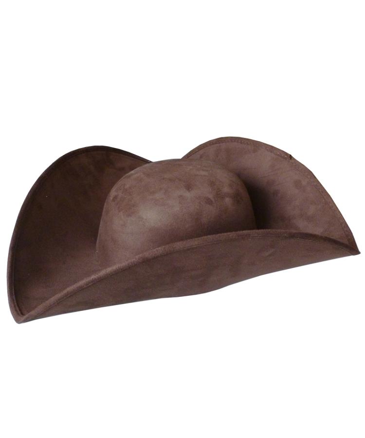 Chapeau-Tricorne-brun