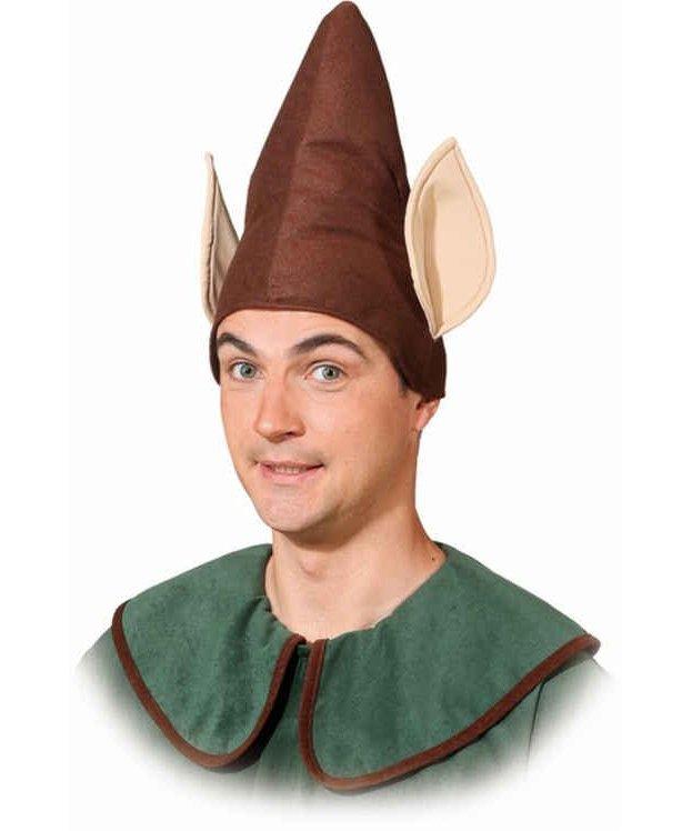 Bonnet-de-lutin-brun-avec-oreilles