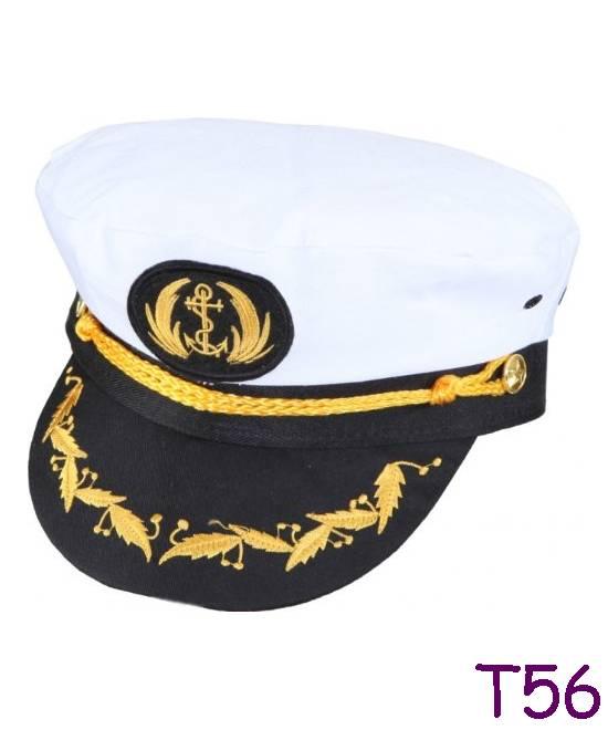 casquette de capitaine luxe taille 56 ac1665. Black Bedroom Furniture Sets. Home Design Ideas