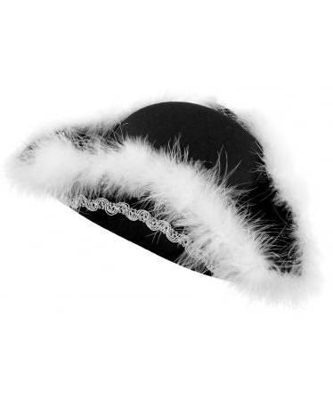 Chapeau-Tricorne-luxe-Laine