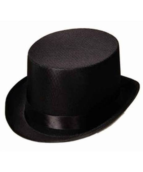 Chapeau-Haut-de-Forme-Noir-satin
