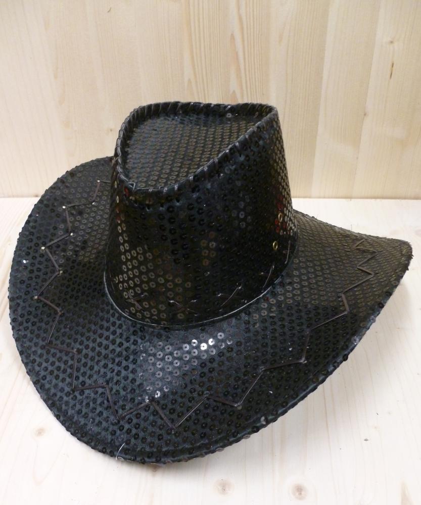 Chapeau-Saloon-paillet�-noir