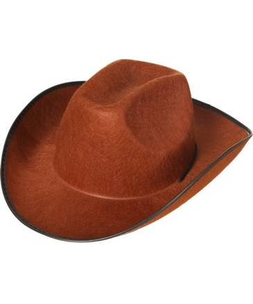 Chapeau-de-cow-Boy-marron-pour-adultde