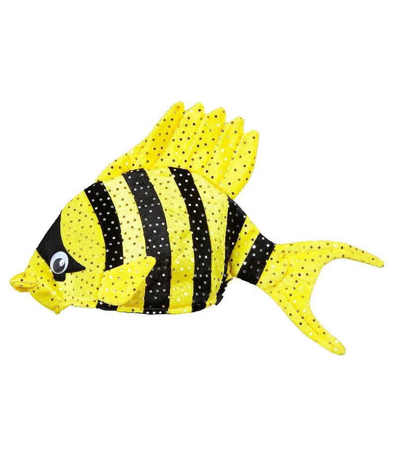 Chapeau-de-poisson-jaune