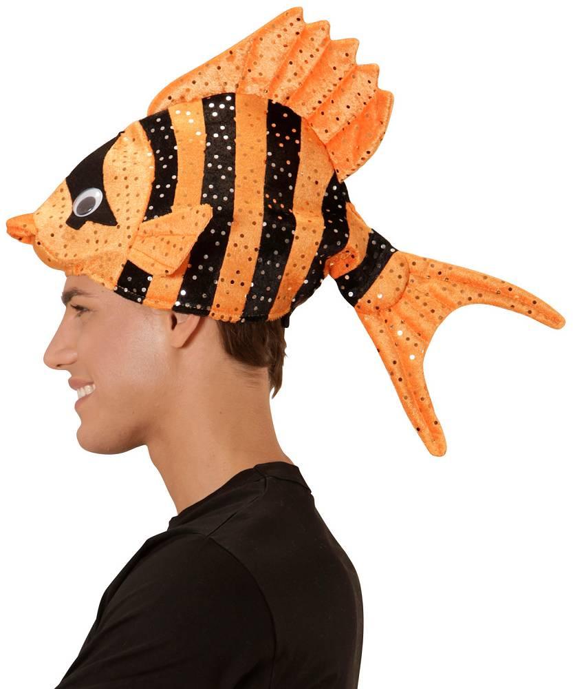Chapeau-Poisson-sur-tête-orange-2