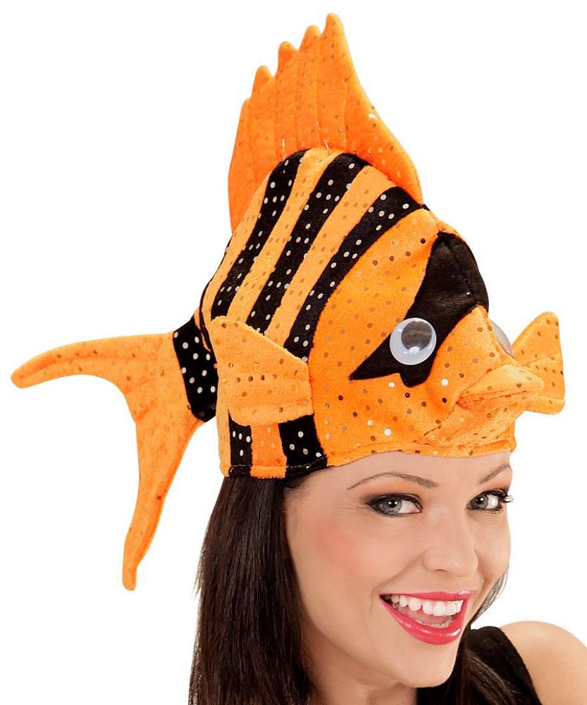 Chapeau-Poisson-sur-tête-orange-3