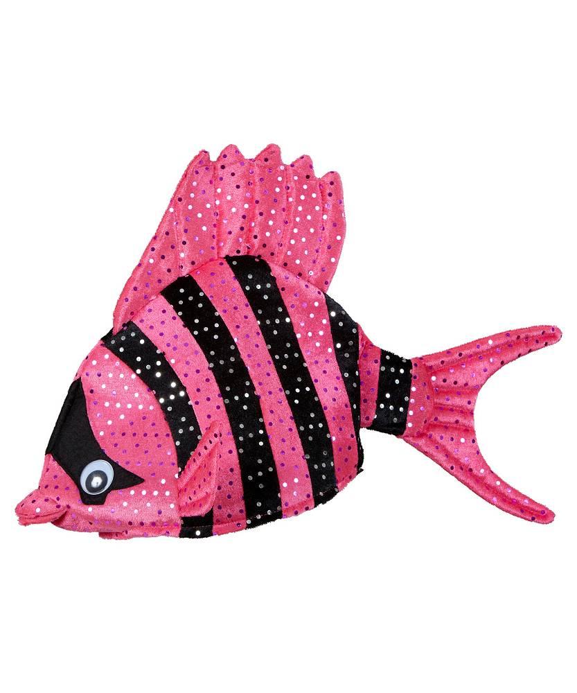 Chapeau-poisson-rose