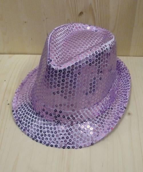Chapeau-Funk-paillettes-violet