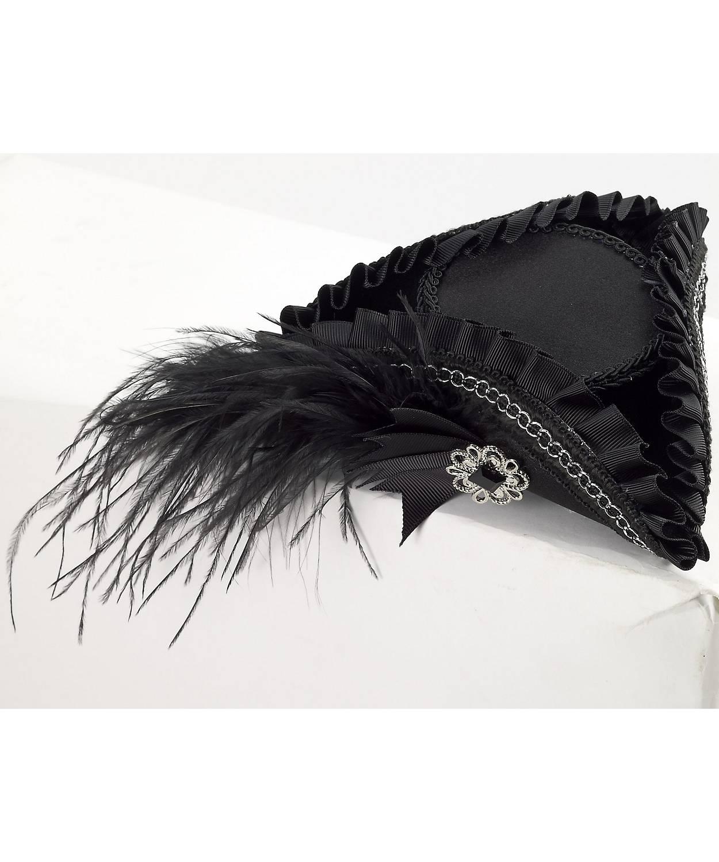 Mini-chapeau-de-pirate-noir-pour-femme