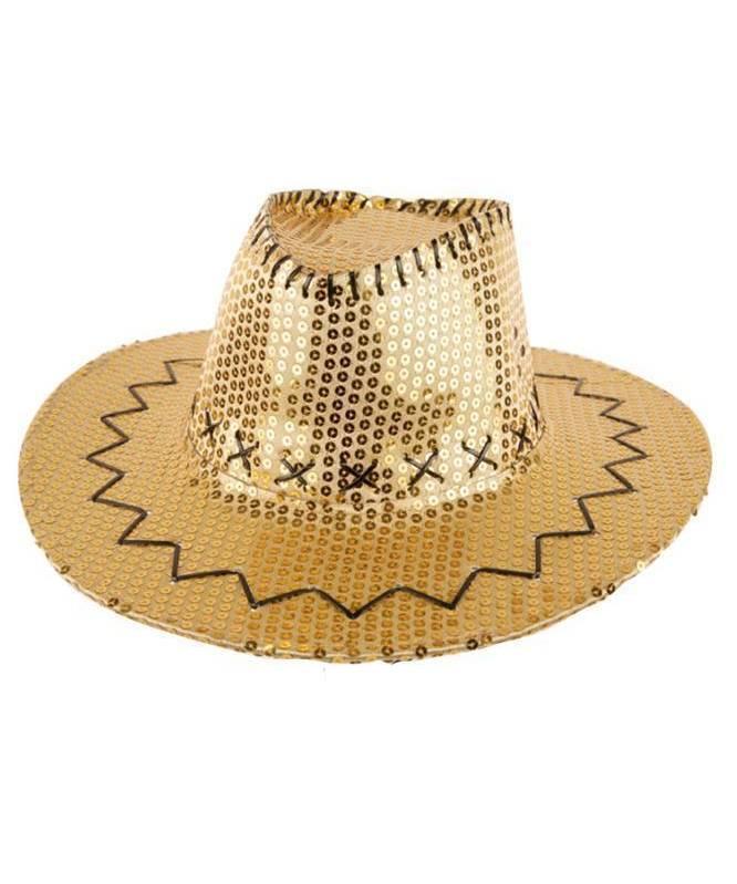 Chapeau-Cowboy-paillettes-doré