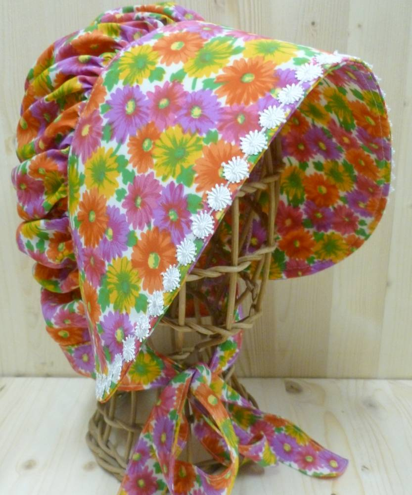 Bonnet-de-style-Maison-Prairie-à-fleurs