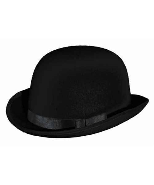 Chapeau-Melon-en-feutre-noir