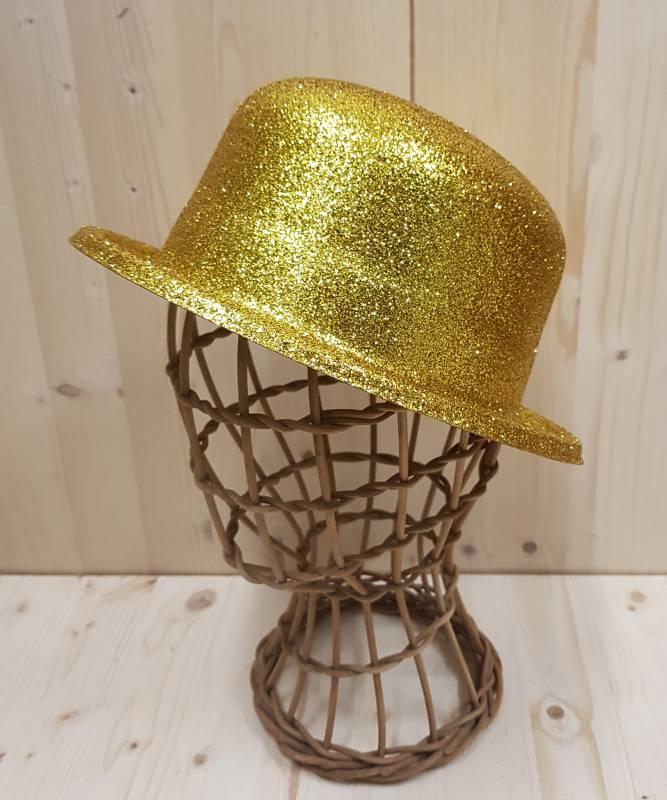 Chapeau-paillettes-or
