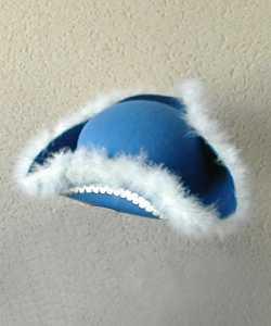 Tricorne-pour-enfant-bleu