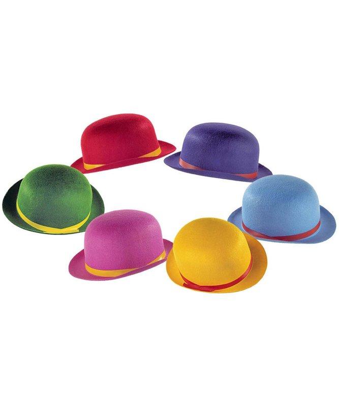 Chapeau-melon-couleur-pour-enfant