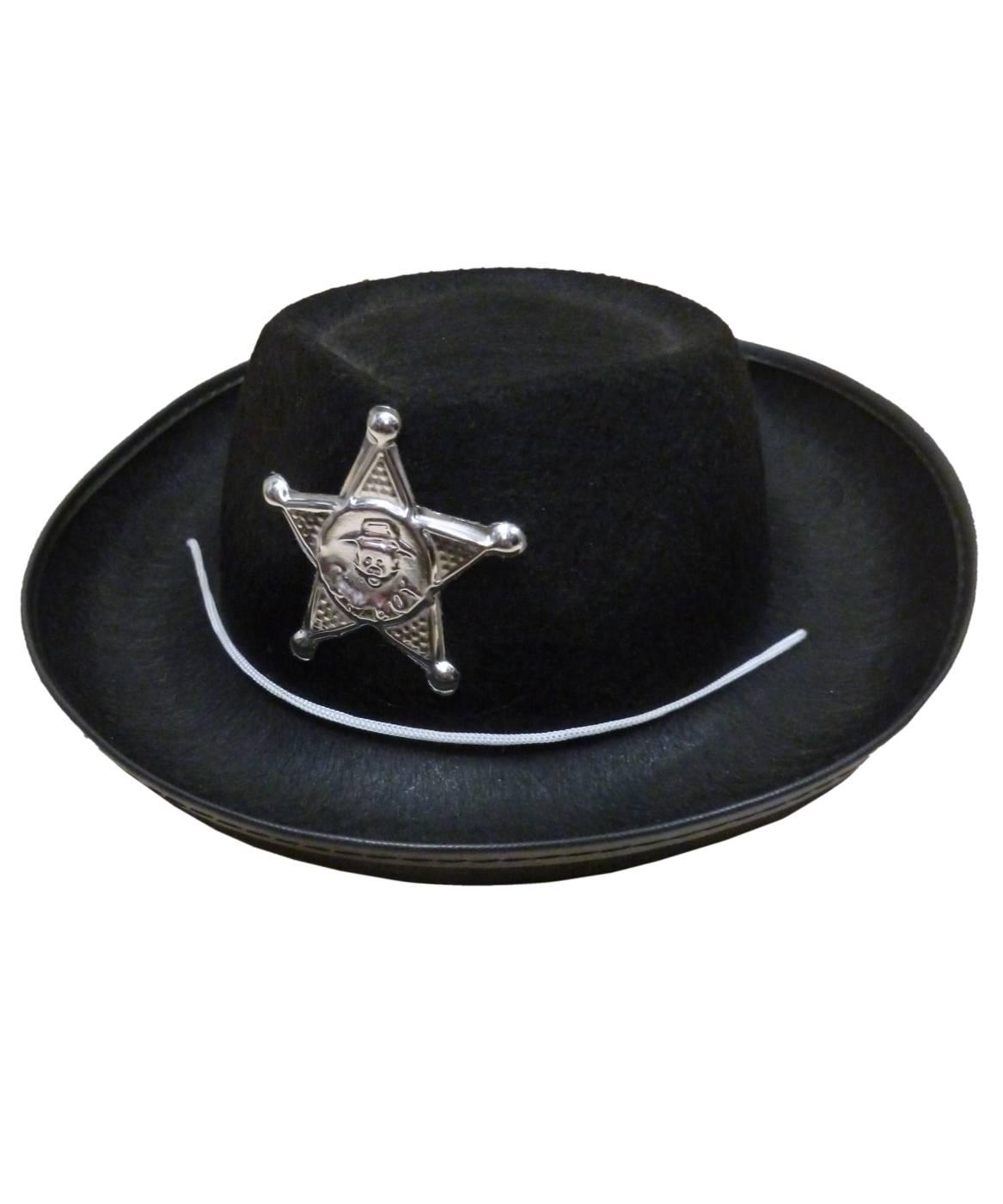 Chapeau-Cow-Boy-Enfant-noir