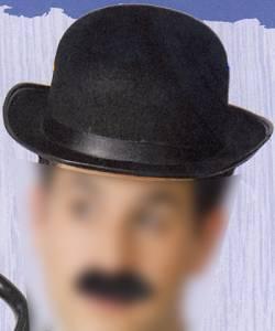 Chapeau-Melon-Enfant-feutre-noir