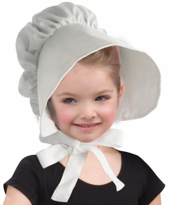 Bonnet-Colonial-blanc-pour-fille