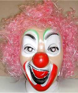 Masque-clown-cheveux