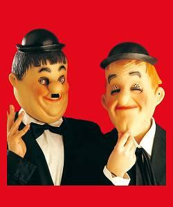 Masques-Laurel-et-Hardy