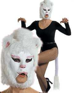 Masque-Chat-blanc