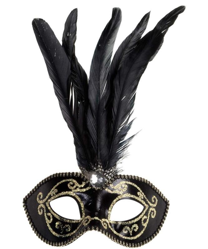 Masque-Loup-noir-plumes