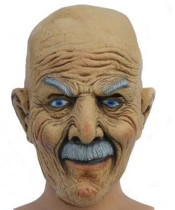 Masque-crâne-chauve