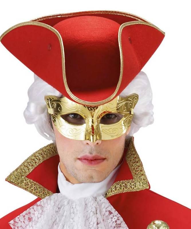 Masque-de-marquis-or