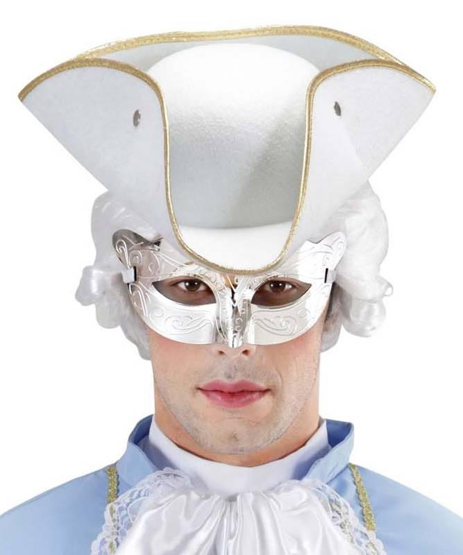 Masque-marquis-argent