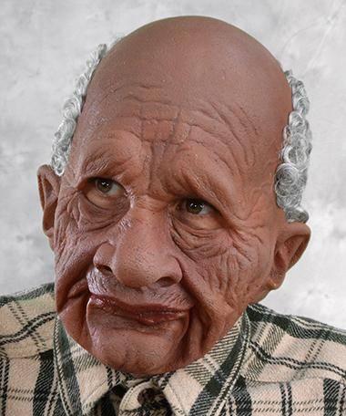 Masque vieux réaliste