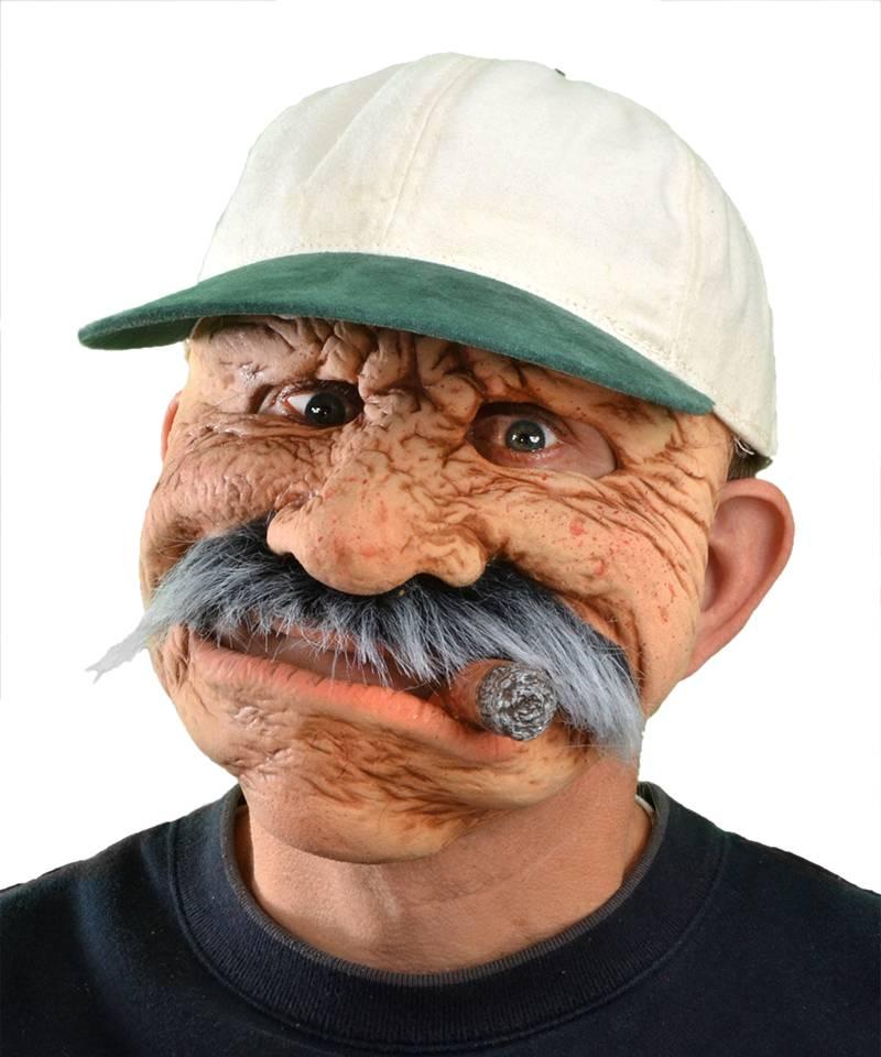 Masque de vieux réaliste