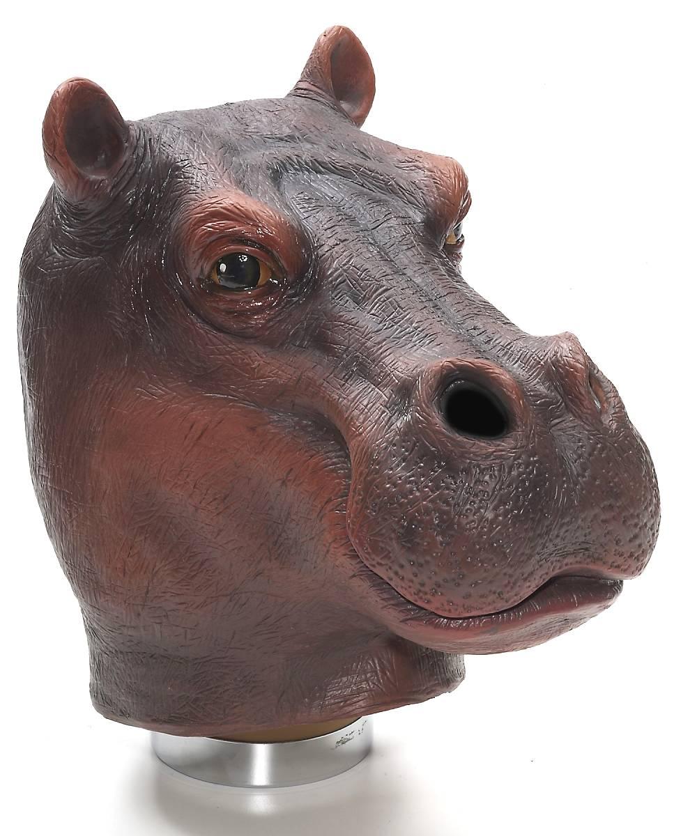 Masque-hippopotame