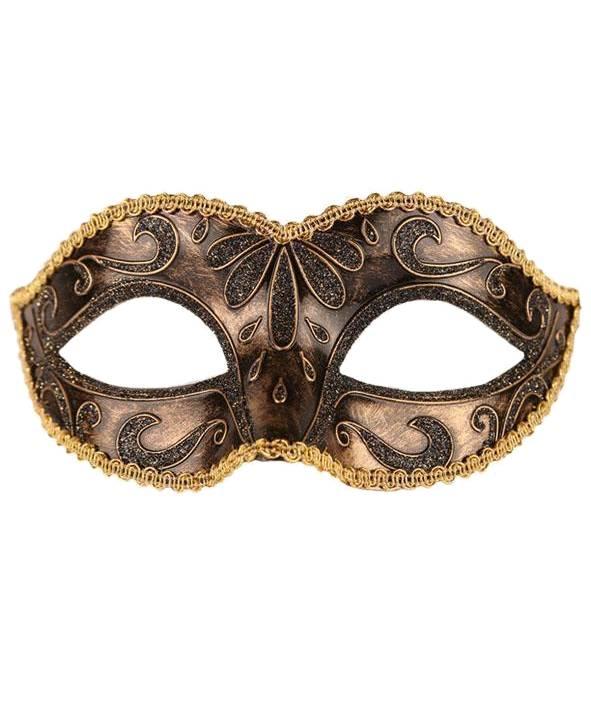 Masque-venitien-doré