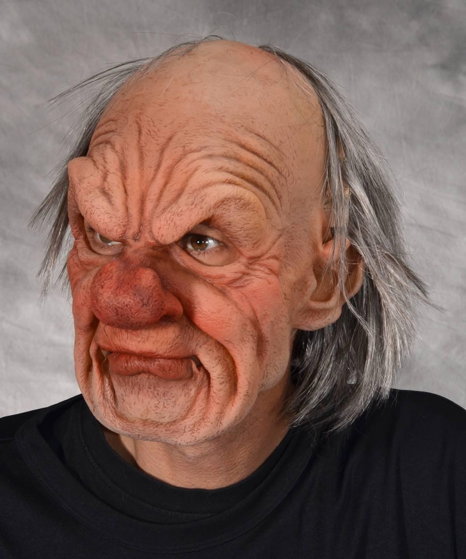 Masque de vieux