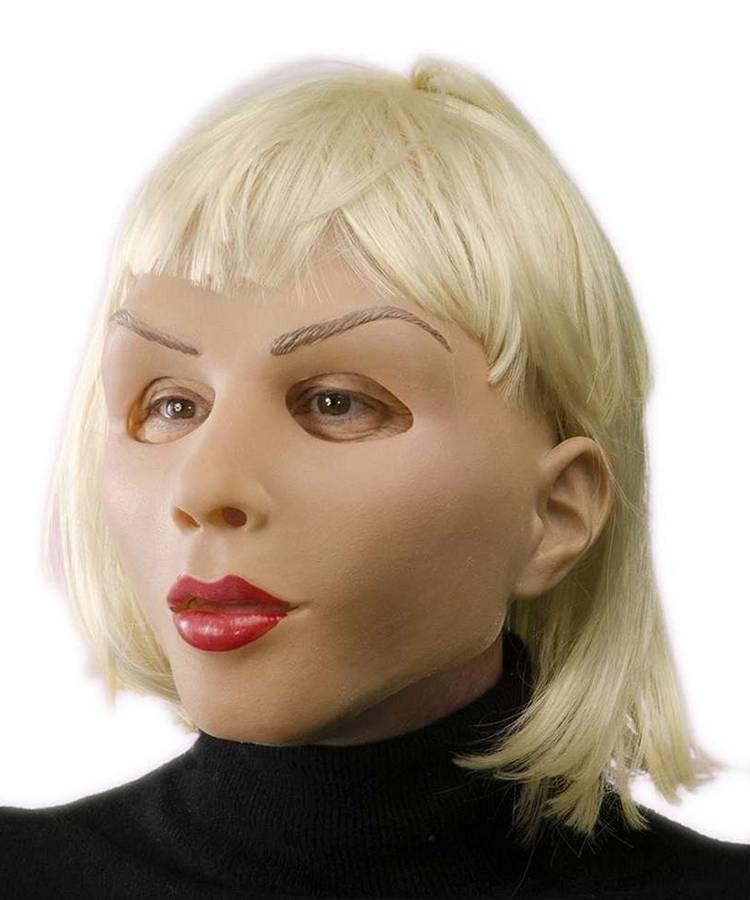 Masque femme latex
