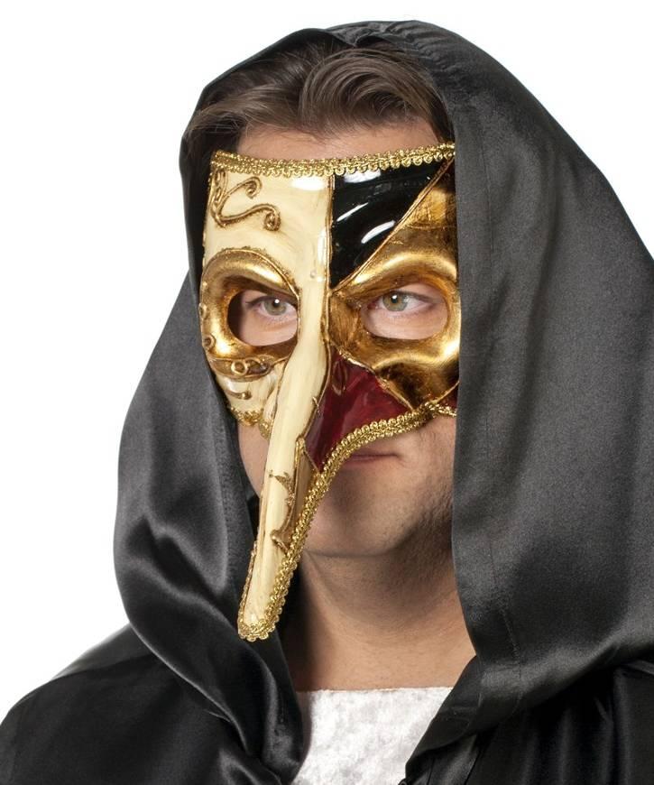 Masque-Vénitien-à-long-nez